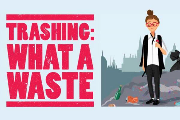 Trashing: What a Waste visual