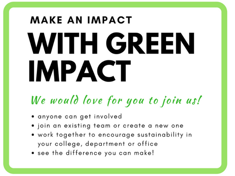 Green Impact call to action