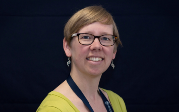 Portrait image of Stefanie Reiss, Environmental Sustainability